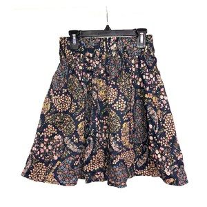 H&M Women's Floral Print Skirt